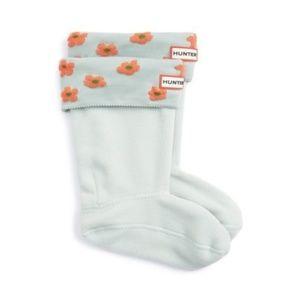 New in Box Hunter Floral Welly Socks L
